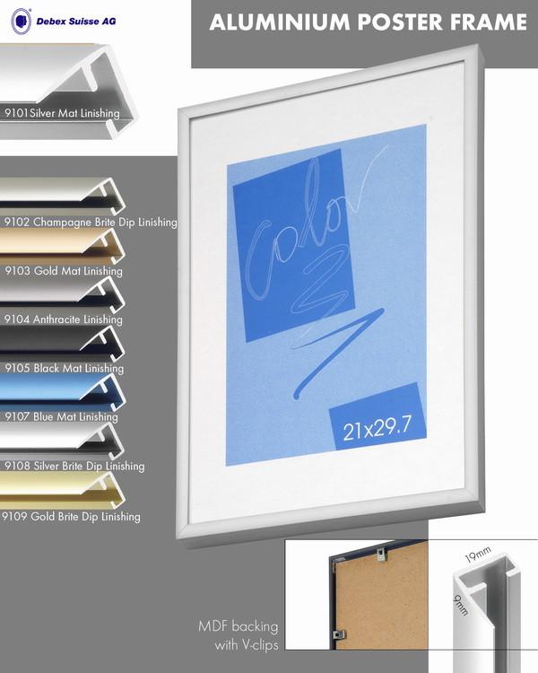 рама алюминиевая для фото, графики, диплома, сертификата